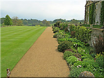ST9769 : Large lawn at Bowood by Trevor Rickard