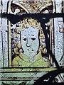 SP2201 : Detail of early stained glass, Little Faringdon church by Stefan Czapski