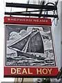 TR3753 : Deal Hoy, Pub Sign, Deal by David Anstiss