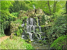 ST9770 : Cascade and grotto at Bowood by Trevor Rickard