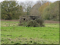 TM1487 : Pillbox not far from Tibbenham Airfield by Adrian S Pye