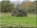 TM1487 : Pillbox not far from Tibbenham Airfield by Adrian S Pye
