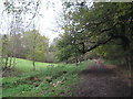 TR1635 : Footpath to Saltwood Castle (3) by David Anstiss