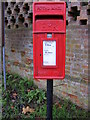 TM2952 : Barrack Lane Postbox by Adrian Cable