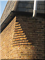 TQ7651 : Brick detail on Cart Lodge Oast by Oast House Archive