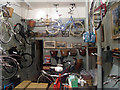 TQ8209 : Old fashioned bike shop by Oast House Archive