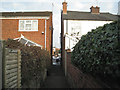 SP2965 : Pickard Street-Avon Street footpath by Robin Stott