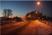 NT1673 : Turnhouse Road Junction by Calum McRoberts
