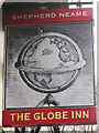 TR1534 : The Globe Inn sign by Oast House Archive