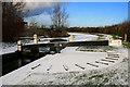 SP4934 : Lock gate at Nell Bridge : Week 50