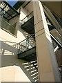 SX9163 : Stairs, Fleet Walk car park, Torquay : Week 50