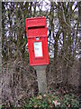 TM3259 : Marlesford Common Postbox by Adrian Cable