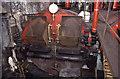 SD8634 : Queen Street Mill, boiler by Chris Allen