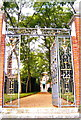 TQ2686 : Entrance to Fenton House, Hampstead, London by nick macneill