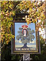 SU4003 : Sign for the Royal Oak by Miss Steel