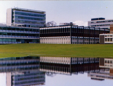 SS6391 : University College Swansea - Library by Brian Whittle