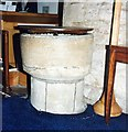 TF0502 : All Saints Wittering - Font by John Salmon