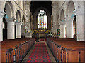 TF4322 : St Mary's church in Long Sutton - view east : Week 1