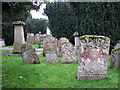TF4108 : St Mary's church in Wisbech St Mary - churchyard by Evelyn Simak