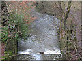 SJ8861 : Weir on the Biddulph Brook by Stephen Craven