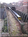 SP0685 : Approach to Five Ways station by Michael Westley