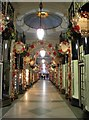 TQ2980 : Princes Arcade still looks like Christmas? by Steve  Fareham