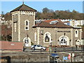 ST5772 : The Pump House restaurant, Bristol harbour by Anthony O'Neil