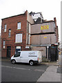 SJ3688 : Derelict building on the corner of Treborth Street, Toxteth by John S Turner