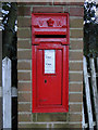 TM4266 : Victorian post box in a modern pillar by Adrian S Pye