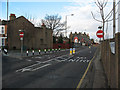 TQ4078 : Westcombe Hill bus lane by Stephen Craven