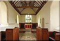 TL4137 : St Nicholas, Little Chishill - Chancel by John Salmon