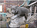 TL4558 : Bears on the steps of the Sedgwick Museum by Stephen Craven