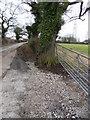 SJ6859 : Stone gate by J Scott