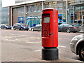 J3374 : Pillar box, Belfast by Albert Bridge