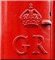 J3674 : GR pillar box, Belfast (3) by Albert Bridge