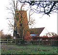 TM0086 : East Harling tower windmill by Evelyn Simak