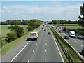 SJ6782 : The M6 near Arley Green, Cheshire by Anthony O'Neil