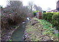 ST5670 : Colliter's Brook south at Ashton Vale by Anthony O'Neil