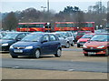 ST5570 : Buses assembling at Ashton Park & Ride, Bristol by Anthony O'Neil