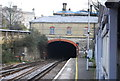 TQ7556 : Week Street Tunnel, Maidstone East Station by Nigel Chadwick