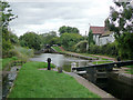 SO9768 : Worcester and Birmingham Canal at Tardebigge Locks by Roger  Kidd