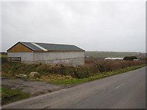 SW6936 : A modern barn at Calvadnack Farm by Rod Allday