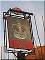TR2564 : The Crown Inn, Pub Sign, Sarre by David Anstiss