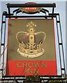 TR2564 : The Crown Inn, Pub Sign, Sarre (2) by David Anstiss