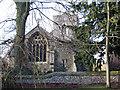 TL5448 : Hildersham: Holy Trinity by John Sutton