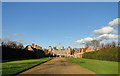 TG1728 : Blickling Hall when the visitors are gone by Adrian S Pye