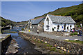 SX0991 : After the flood at Boscastle by Roger Lombard