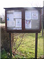 TM3181 : St.James Village Notice Board by Adrian Cable