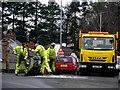H4672 : Emergency road repairs, Omagh (3) : Week 7