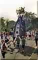 SD9905 : Saddleworth Rushcart 1976 by David Dixon